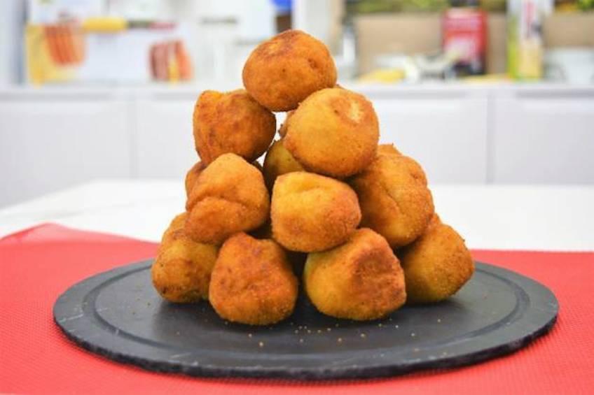 Croquetas de jamón caseras