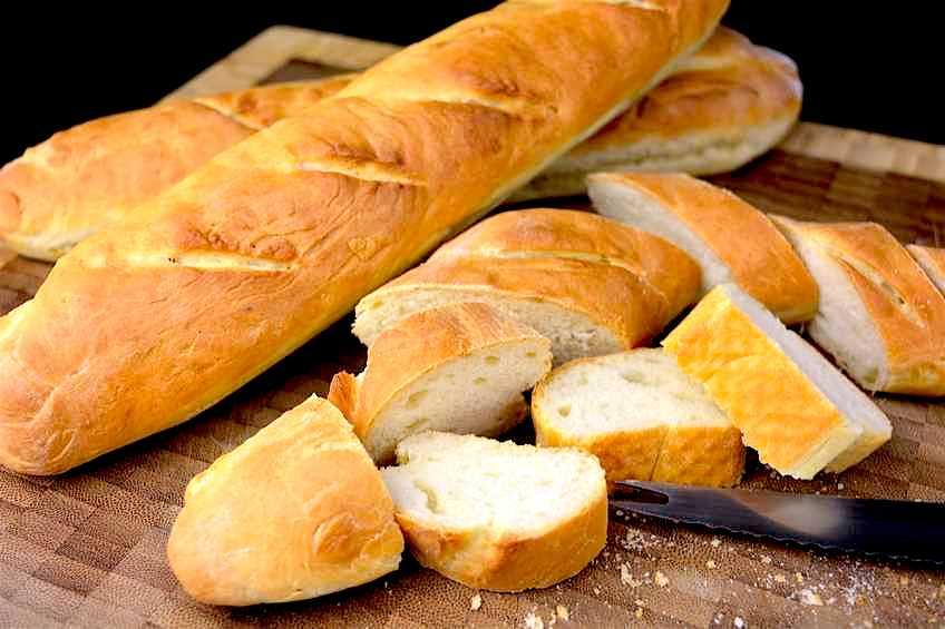 Receta de pan tipo baguette